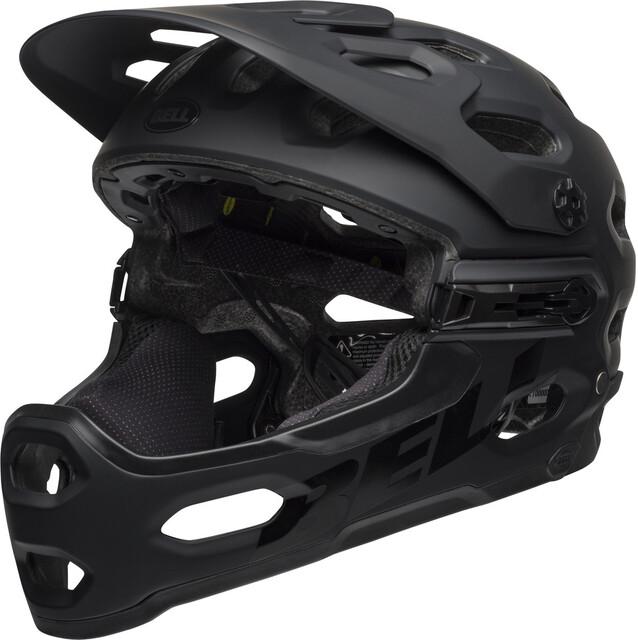 Bell Full Face Super 3R Mips Matte Gloss Black Gray